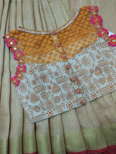 Best Blouse Designs, Simple Blouse Designs, Saree Blouse Neck Designs, Stylish Blouse Design, Neck Designs For Suits, Sleeves Designs For Dresses, Kurti Embroidery Design, Indiana, Designer Blouse Patterns