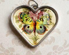 Butterfly Heart Jewelry