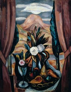 Marsden Hartley (1877–1943)  Window, New Mexico, c. 1923  Oil on canvas