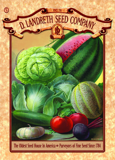 On Facebook today, America's oldest operating heirloom-seed house, D. Landreth Seed Company, posted a plea to ensure that an astonishing garden resource will not go out of business in 30 days. This cannot be the fate of this extraordinary business and its centuries-old legacy.    Help reduce its looming $250,000 debt, which has been called in by an investor holding a note: buy a $5 mail-order catalogue now, buy two, buy three, buy more if the spirit moves you. If the debt is not wiped out by…