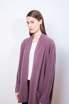 """Arela AW14 collection """"Clement Days"""". Lois cashmere cardigan."""