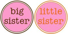 Big sisters and little sister