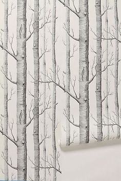 beibehang Birch Tree pattern non-woven wood wallpaper roll modern wall paper simple wallpaper for living room papel de parede Tree Wallpaper Bedroom, Birch Tree Wallpaper, Forest Wallpaper, Home Wallpaper, Wallpaper Roll, Wallpaper Ideas, Print Wallpaper, Wallpaper Online