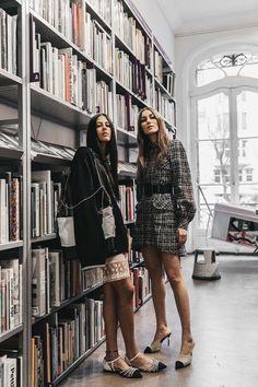 Los 7días/7looks de Giorgia Tordini & Gilda Ambrosio © Diego Anciano / @collagevintage2 / Realización: Noelia Terrón-Laya