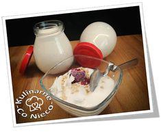 "Kulinarne ,,Co Nieco"" - blog kulinarny: Domowy Wegański Jogurt Sojowy Pudding, Desserts, Blog, Tailgate Desserts, Deserts, Custard Pudding, Puddings, Postres, Blogging"