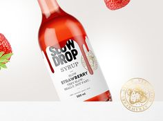 SLOW DROP syrup . . . on Behance