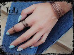 Copper wire ring and bracelet - Δαχτυλίδι και βραχιόλι με σύρμα χαλκού - https://www.facebook.com/IoLiHandmadeCreations
