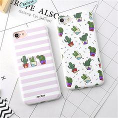 Горячая Фрукты Цветок Кактуса 3D Рельеф Silicone Case Cover For iPhone 7 6 6 s Плюс Резиновые Чехлы Телефон для iphone7 6 Fundas