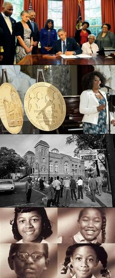 """The bombing of the 16th Street Baptist Church, & the deaths of 4 innocent little girls forced Americans to confront the ideology that black lives were not as valuable as white lives - something the nation still grapples with today."""" Many of the civil rights gains have been gutted & marginalized,"""" Bryant said. """"There's a way in which white privilege continues under a veneer of black liberty."""""""