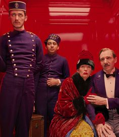 Visiting the Weird, Wonderful World of Wes Anderson. Pictured: The Grand Budapest Hotel. Tilda Swinton, Wanderlust Travel, Lobby Boy, Best Picture Nominees, Wes Anderson Movies, Travel Movies, Grand Budapest Hotel, Grand Hotel, Couple