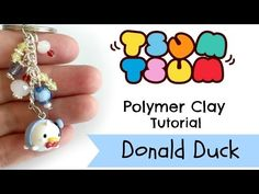 DIY Tsum Tsum Donald Duck polymer clay tutorial