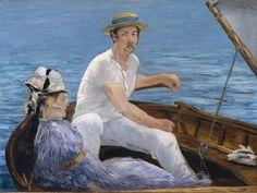 Édouard Manet - En bateau