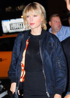 Taylor out in NYC 10.12.16