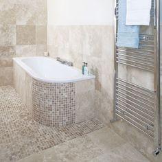 mosaic tiles on bath panel - Google Search