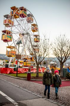 Riesenrad am Veldener Advent - die Stadt der Engel Ferris Wheel, Advent, Fair Grounds, City Of Angels, Christmas Time, Big Wheel
