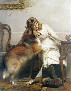 Charles Burton Barber, Sweethearts.