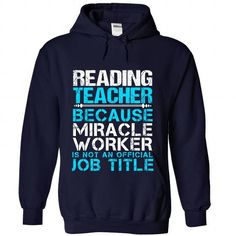 READING-TEACHER - #couple gift #house warming gift. MORE ITEMS => https://www.sunfrog.com/No-Category/READING-TEACHER-4684-NavyBlue-Hoodie.html?68278
