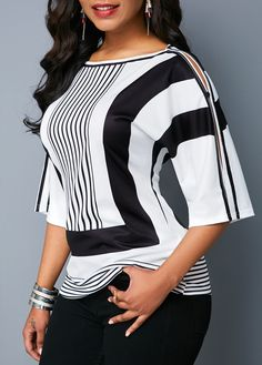 trendy tops for women online on sale Classy Dress, Classy Outfits, Casual Outfits, Dope Fashion, Trendy Fashion, African Clothing For Men, African Fashion, Chiffon Tops, Blouses For Women