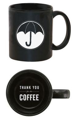 The Umbrella Academy Mug - want!