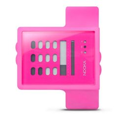 Very different and thats why I like it!  Zub Zayu Watch Magenta by Nooka
