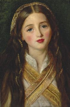 Alice Gray by Millais (his wife Effie Gray's sister)