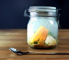 Smoked Pineapple with Ginger, Mango and Vanilla - a perfect dessert to show off all of my fancy tools!