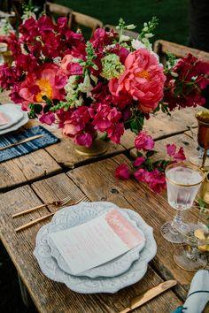 Andrea & Brian's Bougainvillea Estate Wedding • The Melideos