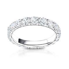 Anya Eternity Diamond Wedding Ring Steven Singer Jewelers