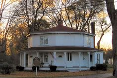 Octagon House in Kinsman, Ohio, Home of my Cousin, Clarence Darrow