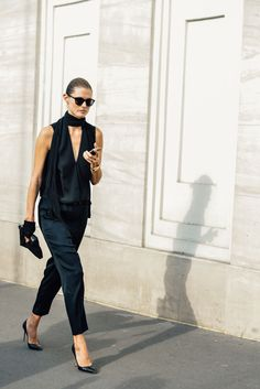 Tommy Ton - all black