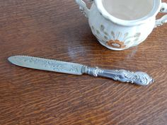 Vintage EPNS  Cake knife , shabby chic, retro , boho, kitchenware by…