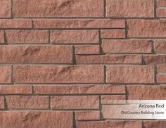 Old Country Building Stone - Arizona Red