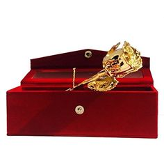 PARTH IMPEX Premium 24K Gold Dipped Rose in Beautiful Vel... https://www.amazon.com/dp/B01NAV370L/ref=cm_sw_r_pi_dp_x_nWEJyb4XN1DTG
