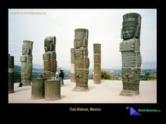 """Tula Statues, Mexico. Photo by Alex Sokolowski (1024x768 JPG, 146KB) Copyright © World-Mysteries.com"" ^***^"