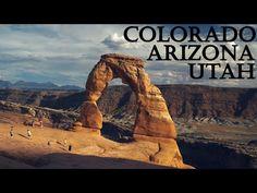 Utah / Arizona / Colorado #Vlog2 Utah, Arizona, Colorado, Mountains, Facebook, Nature, Travel, Instagram, Aspen Colorado