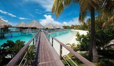 #1 travel bucket list tahiti bora bora overwater bungalow