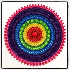 ©Celebration Collages & Gifts- Quilled decorative circles pictures (Searched by ChauKhang)