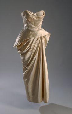 Charles James evening dress ca. 1952 From the Museum at FIT