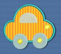 Car Applique - 2 Sizes! | Cars | Machine Embroidery Designs | SWAKembroidery.com Designs by Juju
