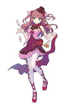 【トイズドライブ】★4「怪盗リリィ+」ステータス・評価まとめ - キャラ名鑑|トイズドライブ公式攻略Wiki - GAMY(ゲーミー) Manga Anime, Anime Chibi, Manga Girl, Anime Art, Female Character Design, Character Design Inspiration, Character Art, Girls Characters, Female Characters
