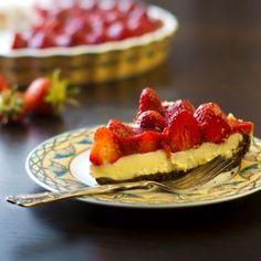 Strawberry Cream Pie With Chocolate Crust Plus 20 other Pie Recipes
