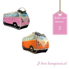Toilettas vw bus - bag VW van - more cool presents on my blog! #ilovekamperen #present #gift#camping