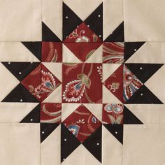 2012 Mystery Quilt from American Patchwork & Quilting: Block 7