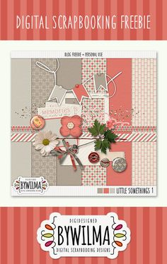 Quality DigiScrap Freebies: Little Somethings 1 mini kit freebie from Digi Designed by Wilma