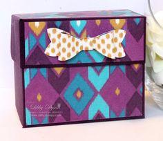 Gift Bag Punch Board Box