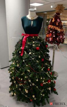 On peut donner une seconde vie à tous les objets... même à son sapin de Noël!!