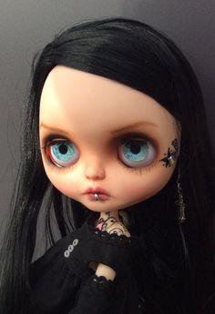 Custom Blythe doll OOAK by Janiedollsart on Etsy