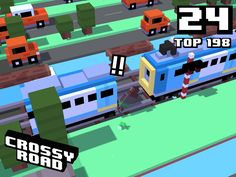24 on #crossyroad. My top is 198.