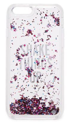 Kate Spade New York Shake Things Up Liquid Glitter iPhone 6 / 6s Case   SHOPBOP