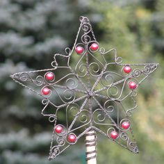 Špička na stromeček - vánoční hvězda 1.   Zboží prodejce kramářka bfd6f77cce